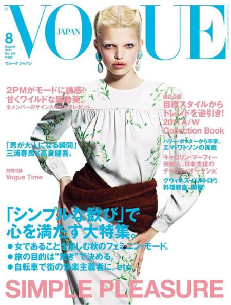 Daphne Groeneveld Vogue Japón
