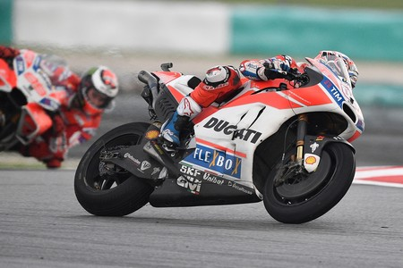 Andrea Dovizioso Gp Malasia Motogp 2017
