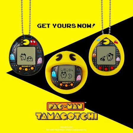 El Tamagotchi de Pac-Man hecho por Bandai está de promoción en méxico