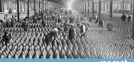26 imágenes que ilustran cómo la mujer tomó las fábricas durante la Primera Guerra Mundial