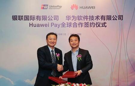 Huawei Pay Acuerdo