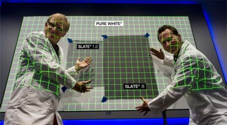 Slate .8, la pantalla de proyección negra que te permitirá usarla con luz ambiental
