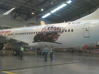 El avión de Jorge Lorenzo