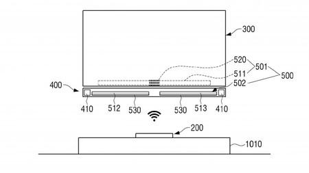 ¿Una tele que no necesite cables de alimentación? Esa es la idea que se escondería tras esta patente de Samsung