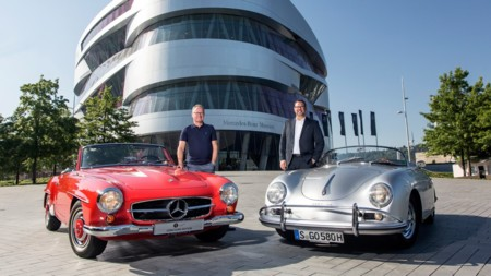 Porsche y Mercedes-Benz se asocian para que visites sus respectivos museos en Stuttgart