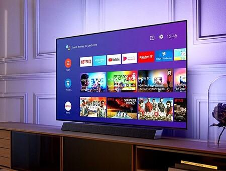 """Esta Smart TV Philips 4K OLED de 55"""" de gama alta está a precio de derribo en Amazon: 1.499 euros"""