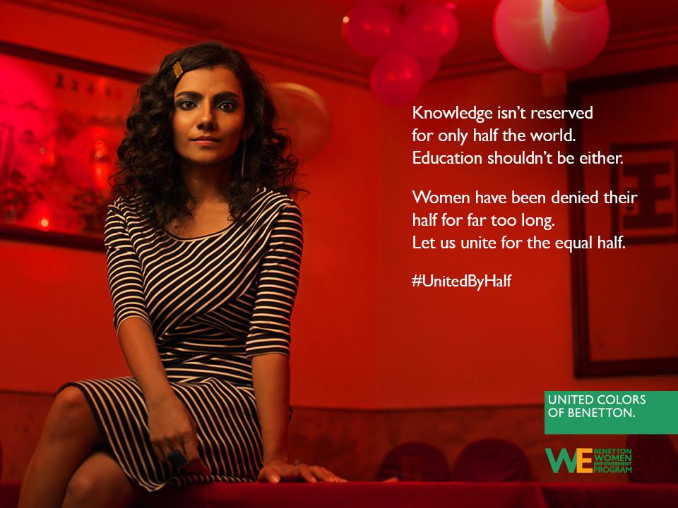 Foto de Hoy es Día Internacional de la Mujer y Benetton lucha por la igualdad entre hombres y mujeres (1/19)