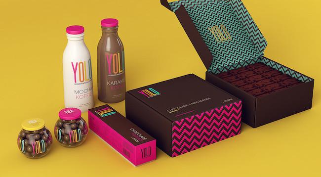 Porque solo se vive una vez chocolates yolo for Dulce coffee studio