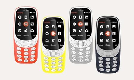 Vuelve el clásico, y por sólo 44 euros: esta mañana, tienes los 4 colores del Nokia 3310 rebajados en Mediamarkt