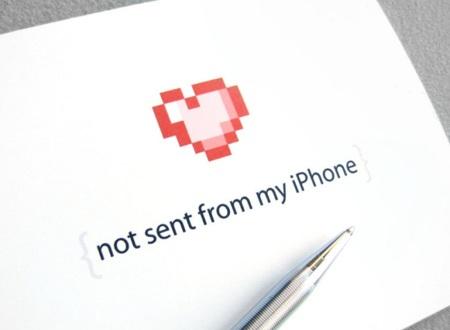 San Valentín: tarjeta real... para salir de la vida digital