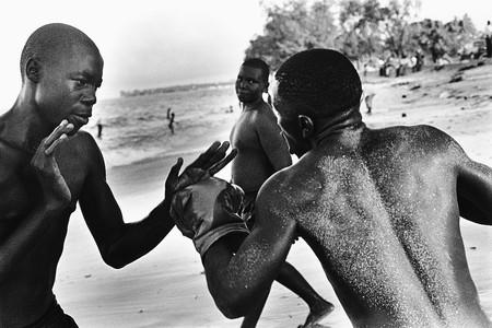 Boxers On Beach