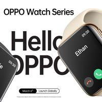 El OPPO Watch se presenta el 6 de marzo y ya conocemos su diseño y algunas características