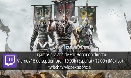 Jugamos en directo a la alfa de For Honor a las 19:00h (las 12:00h en Ciudad de México) (finalizado)