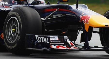 GP de Alemania 2010: Los alerones delanteros de Red Bull y Ferrari son legales