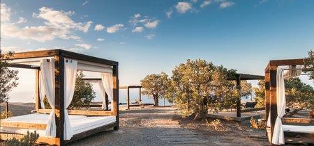 Decoración de lujo con vistas en el Sheraton Gran Canaria Salobre Golf Resort