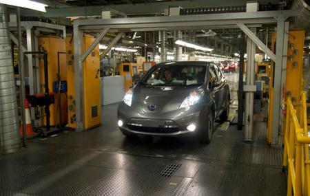 Arranca la producción del Nissan LEAF en Europa