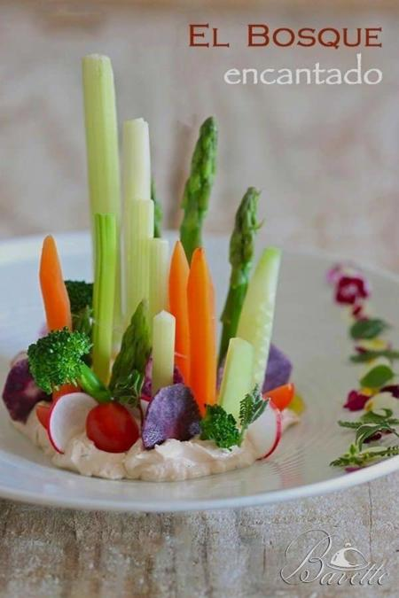 Verduras Queso Finas Hierbas