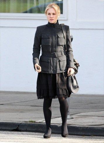 Anna Paquin look de calle