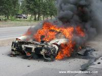 Era cuestión de tiempo: el Ferrari Enzo prueba el fuego purificador de nuevo