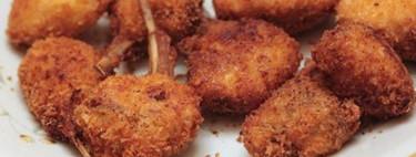 Chuletas de cordero lechal a la Villeroy, receta para celebraciones