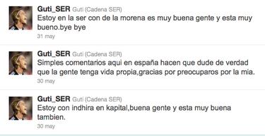 Hoygan, Guti es todo un troll de Twitter