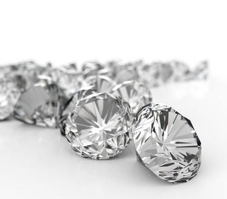 diamonds.