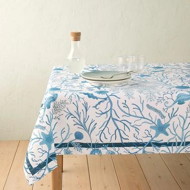 Quien no pone una mesa bonita es porque no quiere. Los manteles más bonitos de El Corte Inglés tienen hasta el 51% de descuento