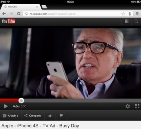 La web móvil de YouTube deja de soportar el reproductor de vídeos de iOS