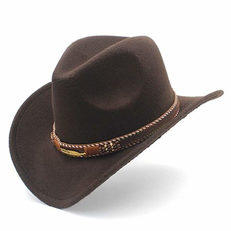 sombrero cow boy mujer