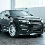 Hamann convierte al Land Rover Evoque en el rey de la ciudad