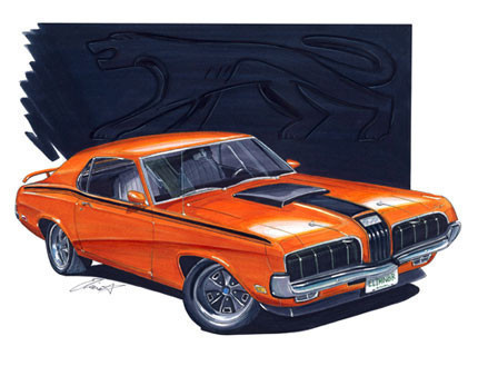 1970 Mercury Cougar Eliminator