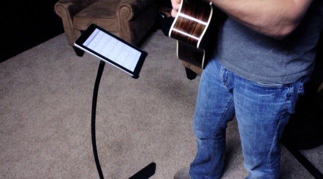 iProp, soporte para iPad con brazo flexible