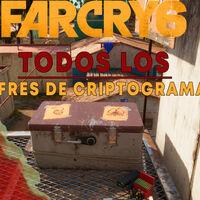 Todas las ubicaciones de los cofres de criptogramas en Far Cry 6