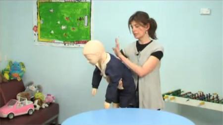 ¿Cómo actuaríais si vuestro hijo se atragantara con un cuerpo extraño?