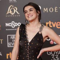 "Premios Goya 2019: Amaia Romero de OT debuta ""encadenada"" en la alfombra roja"