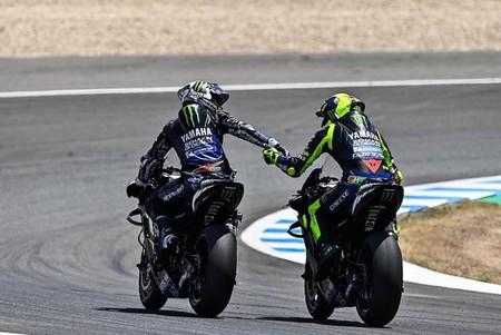 Vinales Rossi Jerez Motogp 2020