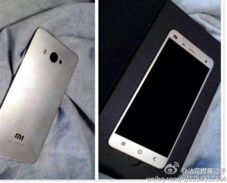Xiaomi Mi4 muestra su metálico aspecto, pero es plástico