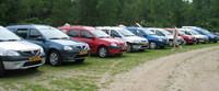 Concentración de Dacia Logan MCV en Holanda