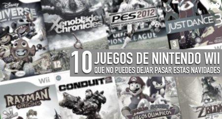 Diez juegos de Wii que no puedes dejar pasar estas navidades