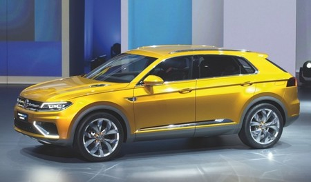 Todo sobre el Volkswagen CrossBlue Coupé Concept, SUV híbrido enchufable