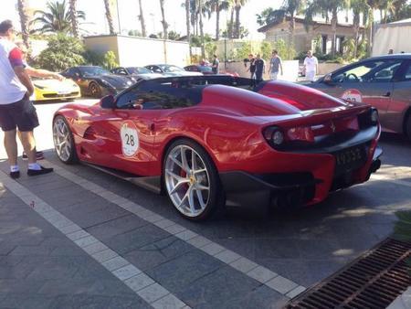 Marchettino capta el Ferrari F12 TRS en Sicilia