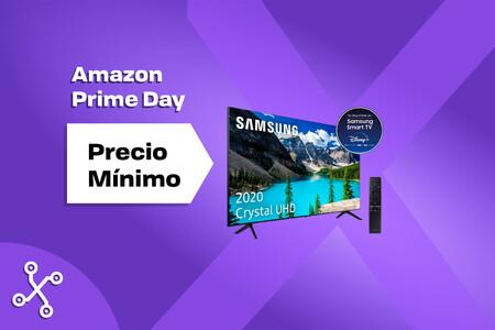 La smart TV 4K más vendida del Amazon Prime Day es esta Samsung de 55 pulgadas con Alexa por 469 euros