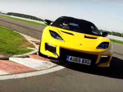 Para amenizar la tarde del sábado, nada mejor que el Lotus Evora 400, en vídeo