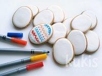 Kukis: galletas de Pascua para decorar con rotuladores