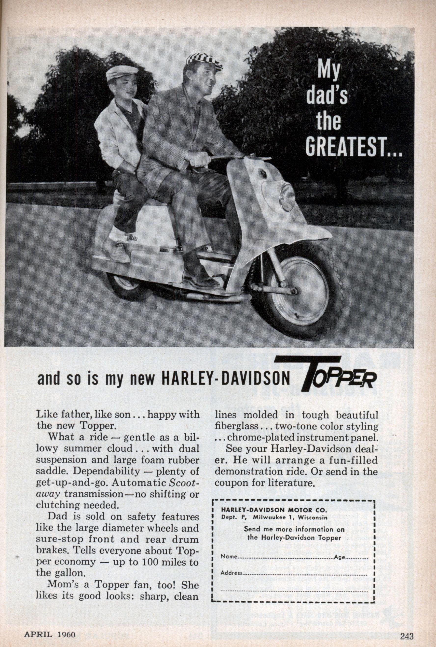 Foto de Harley-Davidson Topper scooter (7/13)
