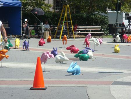 Sony Bravia Play-Doh:anuncio de los conejos de Sony