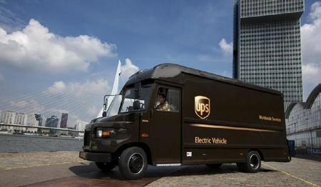 UPS empieza a repartir en Rotterdam con vehículos eléctricos