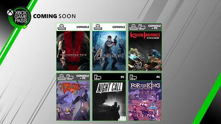 Metal Gear Solid V: The Phantom Pain, Killer Instinct y Resident Evil 4 entre los próximos juegos que llegarán a Xbox Game Pass