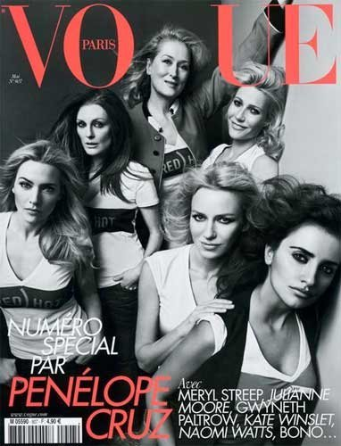 Vogue París reune muchas chicas Red Hot