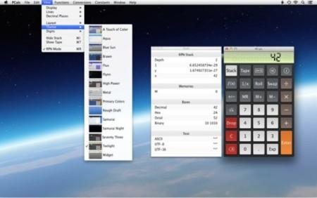 PCalc 4, calculadora científica para OS X